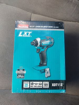 Makita impact drill 1/4 new (( no charger no battery)) firm$$ for Sale in Modesto, CA