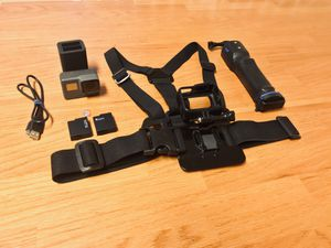 GoPro Hero 5 Black with Acxessories for Sale in Warren Air Force Base, WY