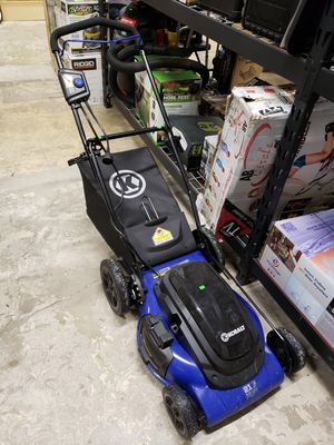"Kobalt 21"" electric lawn mower. Plugs into extension Cord. $100 FIRM for Sale in Redlands, CA"