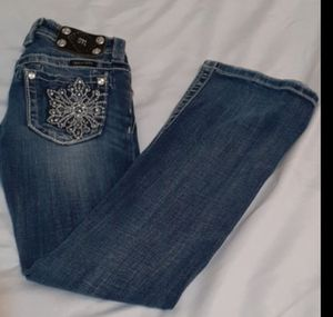 Miss Me Girls Boot Cut Jeans Size 10 for Sale in Waco, TX
