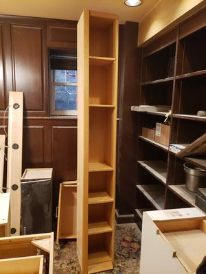 """12"""" wide x 90"""" tall cabinet bookshelf for Sale in Chicago, IL"""