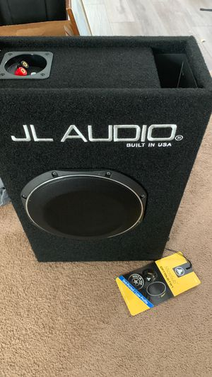 AVAILABLE JL audio subwoofer. brand new. With Factory warrantee for Sale in Bartow, FL