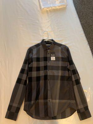 Burberry Brit Charcoal Medium Shirt Mens for Sale in Scottsdale, AZ