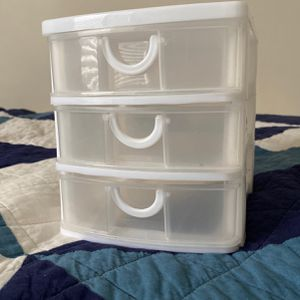 Small Plastic Drawer for Sale in Clayton, NC