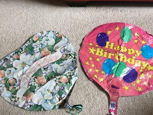 Birthday Balloons - 2 for $1 for Sale in Falls Church, VA