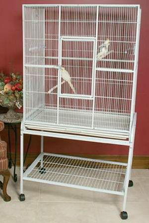 Large Bird Cage w/Removable Rolling Stand for Sale in Queens, NY