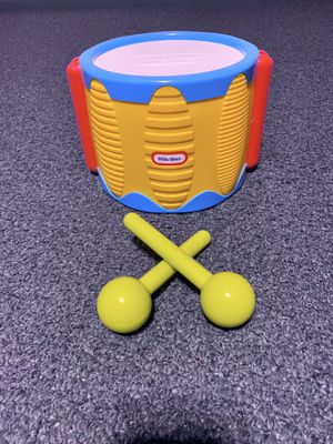 Little Tikes tap-a-tune drum for Sale in Lancaster, OH
