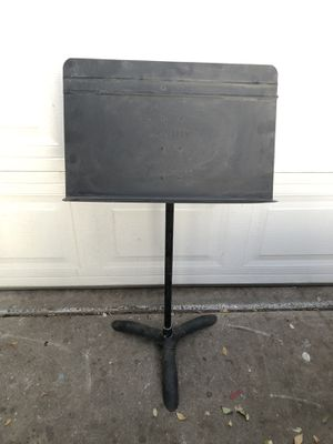 Vintage Manhasset Adjustable Orchestra Symphony Musical Notes Stand for Sale in Fresno, CA