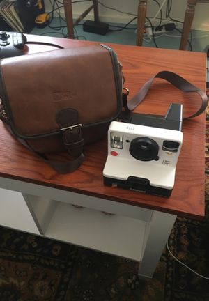 Polaroid and case for Sale in Canyon, TX