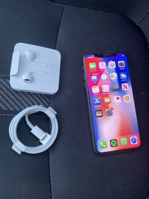 iPhone X 64GB Apple - Unlocked for Sale in Burlingame, CA
