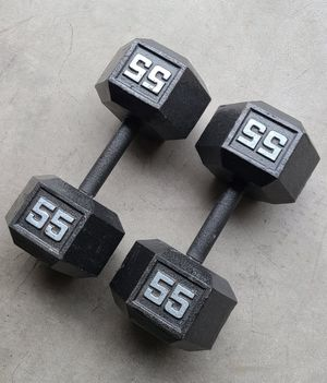 110lbs dumbbell set for Sale in Bothell, WA