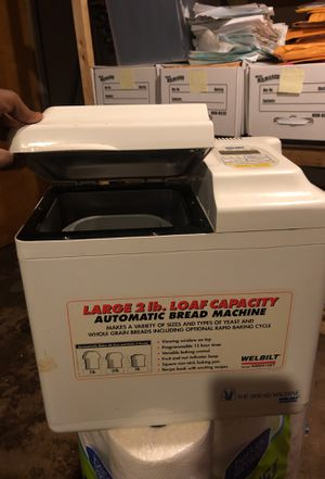 Bread maker for Sale in Worcester, MA