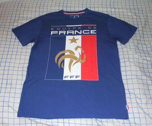 Used, Equipe De France FFF Blue Soccer Men's T-shirtSize Adult Small for Sale for sale  Bell Gardens, CA
