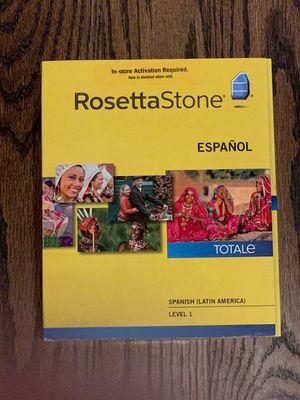 Rosetta Stone Spanish (Latin America) Ver 4 NIB for Sale in Elmhurst, IL