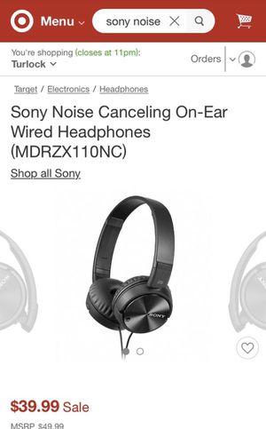 New Sony headphones for Sale in Modesto, CA