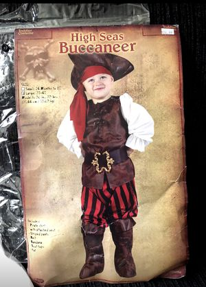 Pirate costume for boy size 3-4 for Sale in Moreno Valley, CA