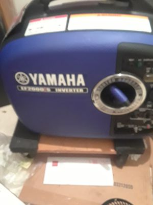 Yamaha ef2000is inverter generator for Sale in Hollywood, FL