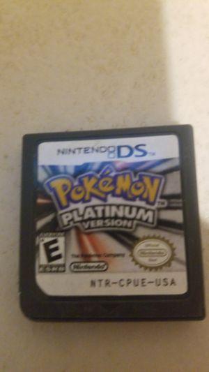 pokemon Platinum great condition $30 for Sale in Mesa, AZ