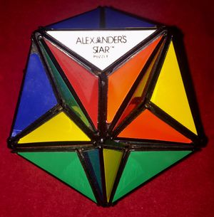 Vintage Original 1982 Alexander's Star Rubiks Cube 3D Puzzle for Sale in Portsmouth, VA
