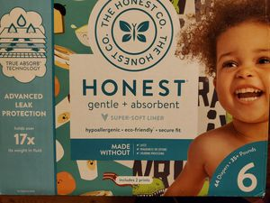 Honest size 6 diapers for Sale in LA CANADA FLT, CA
