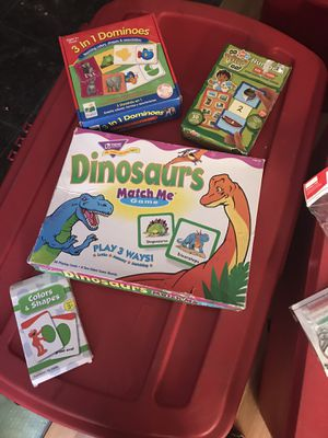 Kids games and puzzles for Sale in Sacramento, CA
