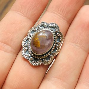 Bali Design - Cacoxenite 925 Ring Size 8.25 for Sale in San Francisco, CA