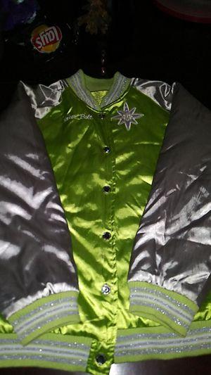 Girls Satin Tinkerbell jacket for Sale in Hemet, CA