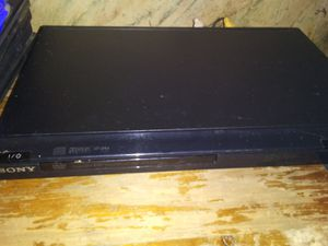 Sony dvd player with 50 DVDs with racks for Sale in Dayton, OH