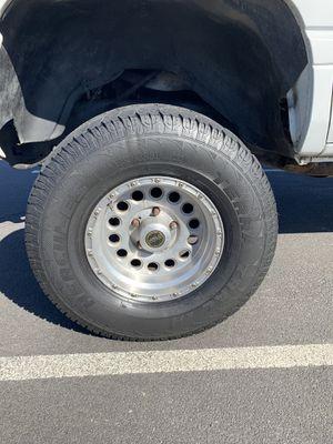 5x5.5 5x51/2 Ram Jeep wheels 305/70/16 for Sale in Lathrop, CA