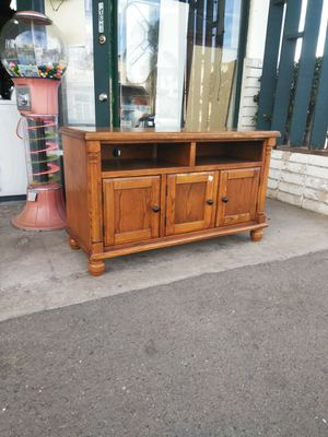 Tv Stand Television Table W/ Cabinet Storage Space for Sale in Escondido, CA