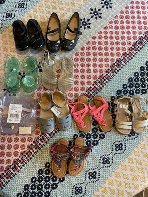 Toddler shoes size 7,8, 9 and 10 listed from bottom to top for Sale in Fresno, CA