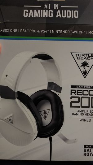Turtle Beach Recon 200 Gaming Headset for Sale in Berea, KY