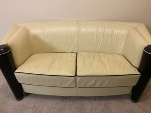 Leather Loveseat, chair and ottoman for Sale in La Quinta, CA