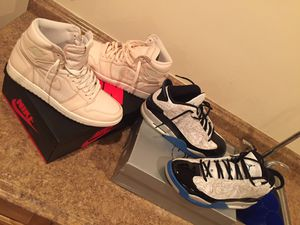 2 of pairs air Jordan's sz 10.5 rarely worn for Sale in Clinton, MD