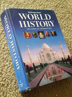 WORLD HISTORY TEXT BOOK for Sale in Fairfax, VA