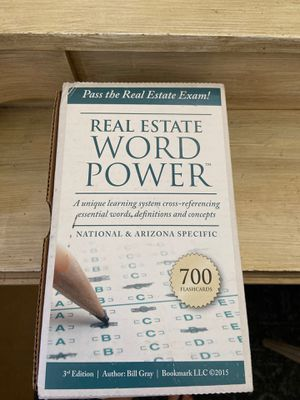Flash Cards - Real Estate License Exam for Sale in Tempe, AZ
