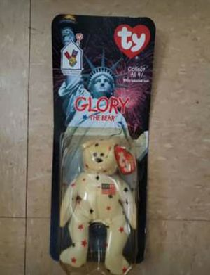 TY Glory The Bear Beanie Baby for Sale in Greenville, SC