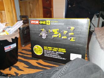 Ryobi 18v 6pc. Combo Kit for Sale in Seattle,  WA
