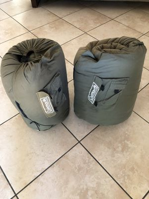 2 Coleman sleeping bags. $45 for both $25 each for Sale in Tucson, AZ