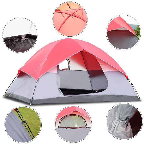NEW Outdoor Tent Easy Set-up with Bag for Summer Camping Beach Hiking Backpacking