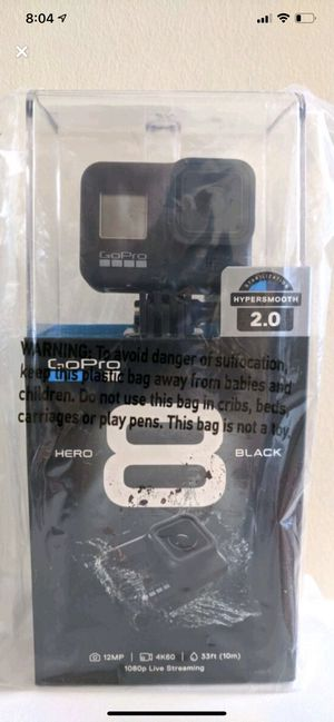 GoPro 8 Black new for Sale in Riverview, FL