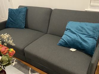 Grey Futon for Sale in College Park,  MD
