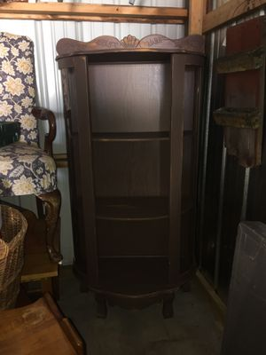 """Shoe"" display cabinet 🤔 for Sale in Mount Vernon, IA"