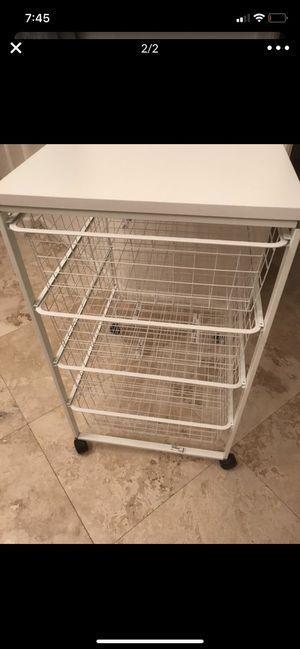 IKEA 4 drawer wire storage for Sale in Scottsdale, AZ