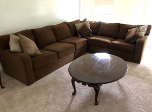 Ethan Allen sectional Couch for Sale in Potomac, MD