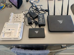 Luxul home WiFi mesh with POE AP and injector and 8 port gigabit switch for Sale in Keller, TX