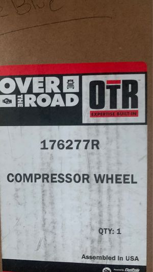 Cat Turbo compressor wheel and nut for Sale in Columbia, CT