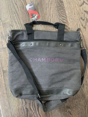 Gray bag-tote- chambord for Sale in Rocky River, OH