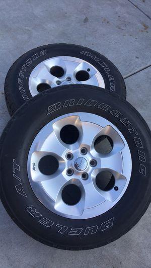 Jeep Wrangler Stock Wheel Rims for Sale in Clovis, CA