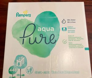 Pampers Pure Wipes for Sale in West Covina, CA